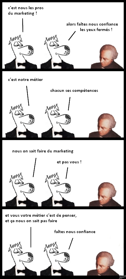 Les pros du marketing