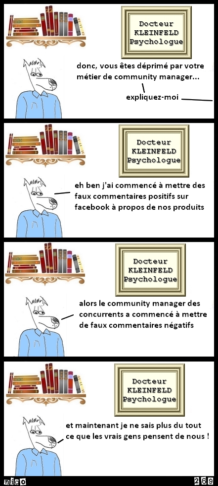 Le community manager des concurrents